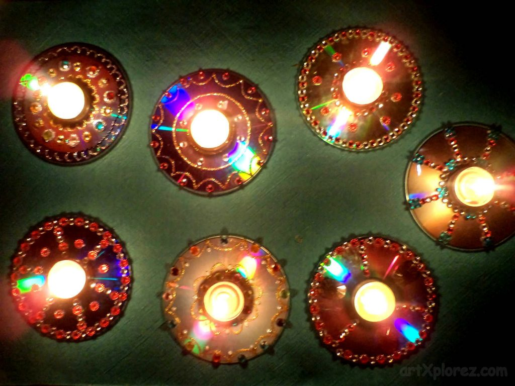 5 Diya Decoration Ideas for Competition