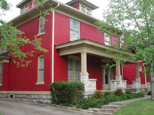 Brick Red house
