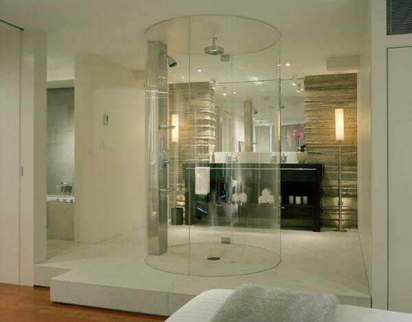 Modern Round Shower