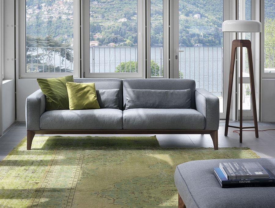 Modern Style Gray Sofa